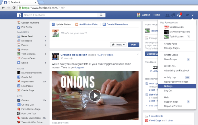 How to Disable Autoplay Videos on Facebook news feed