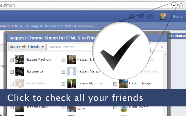 How to Invite all Friends to Like a Page