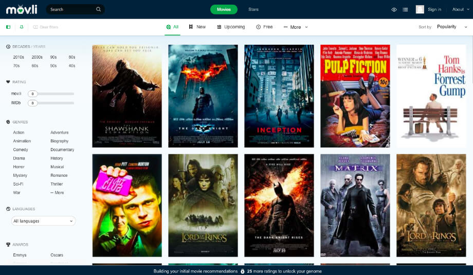 Watch Free Movies Online Without Downloading-at-Movli