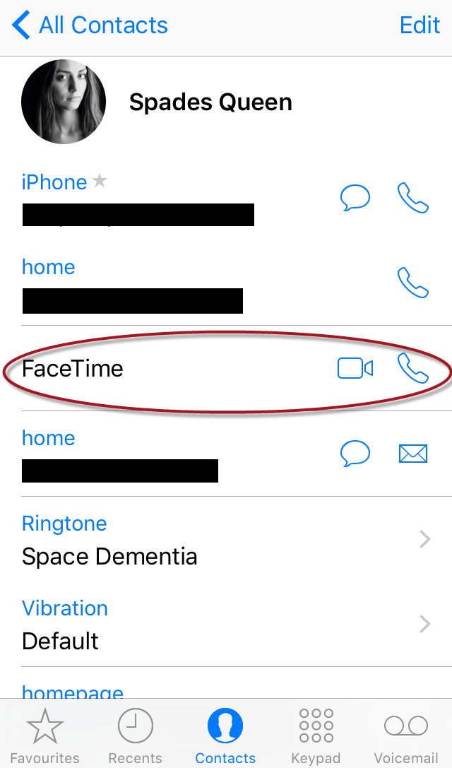 How to Use Facetime in iPhone