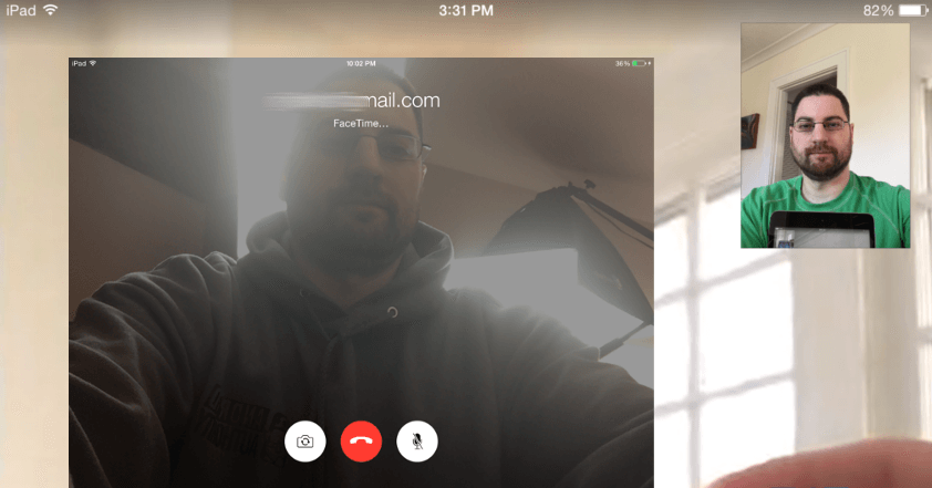 How to use facetime on iPad iPod