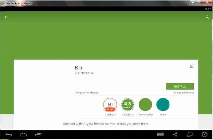 Steps to Download Kik for PC