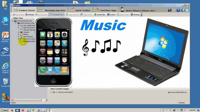 Transfer Songs from iPhone to Computer