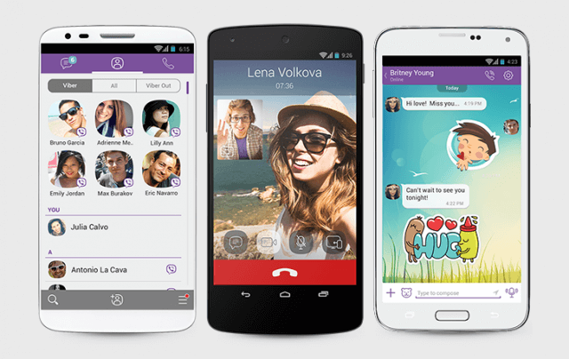 Viber for facetime on Android