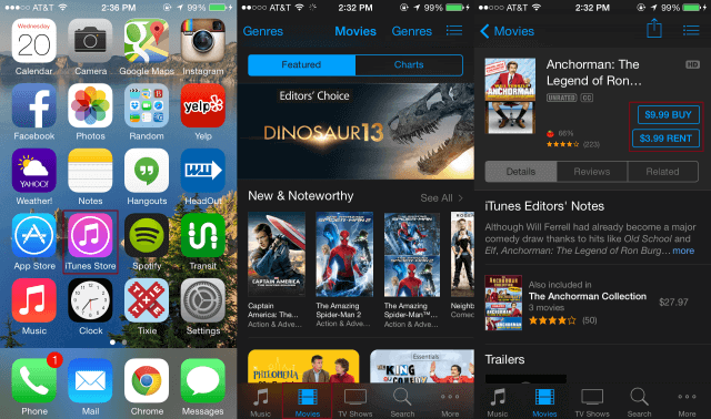 How to Download Movies to iPad using iTunes Store