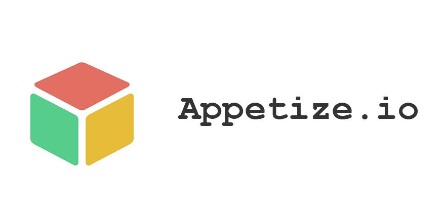 Appetize.io iOS Apps Emulator