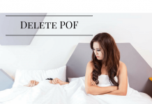 how to delete POF