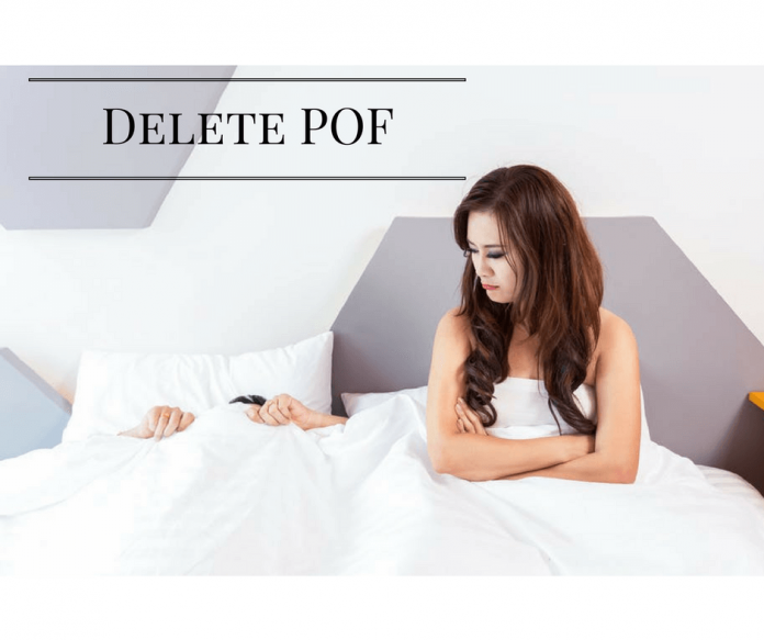 How to delete pof plenty of fish account techykeeday for Plenty of fish reno