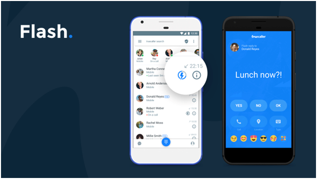 Flash Messaging truecaller latest feature