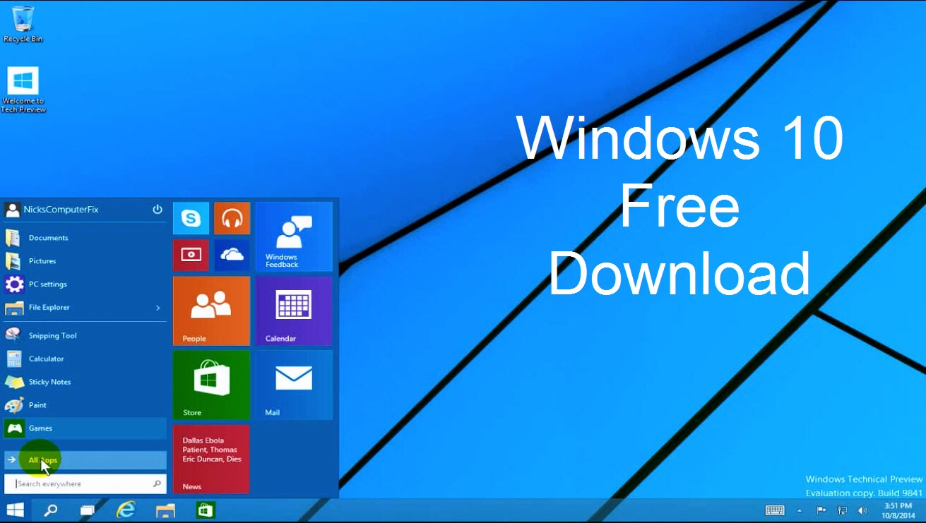 windows 10 full version with activator free download iso