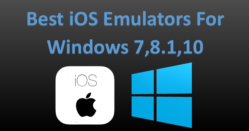 iphone app emulator for pc download