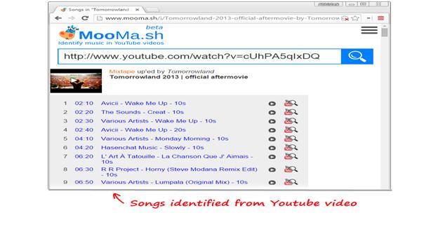youtube music finder