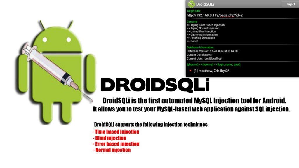 DroidSQLi