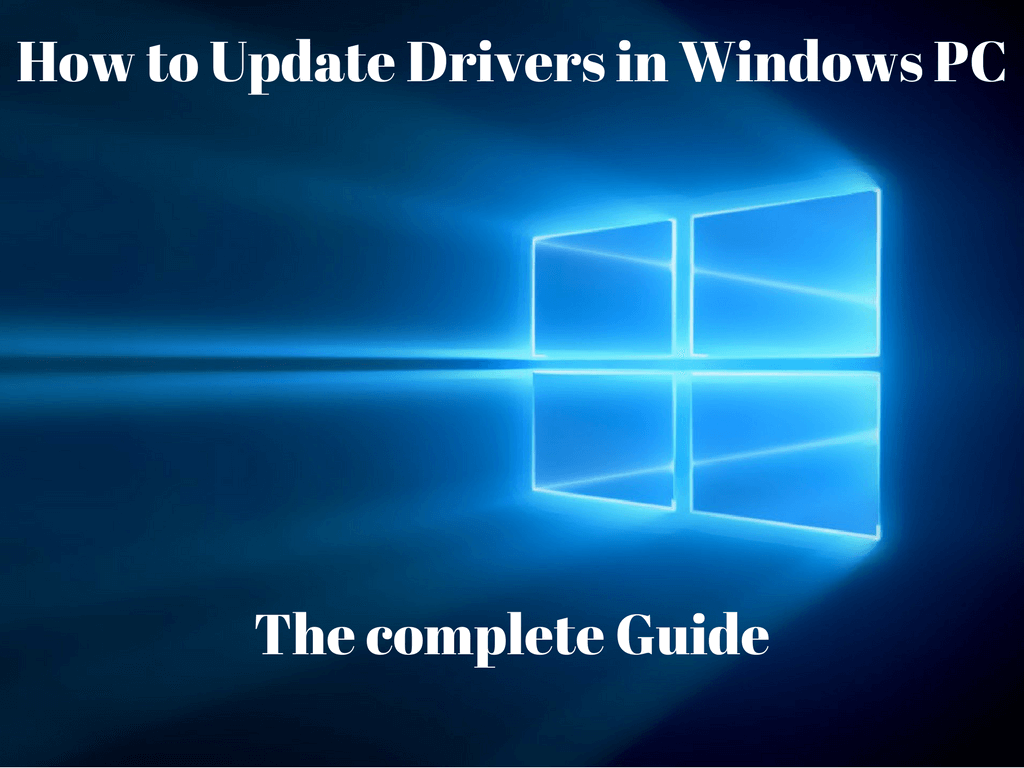 Update Drivers in Windows PC