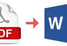 Convert pdfs to word document