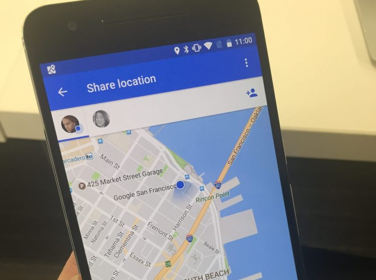 Select share location