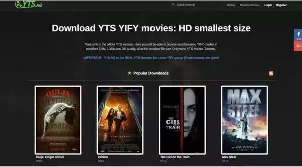 torrent film download website