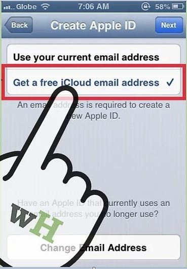 free icloud email address