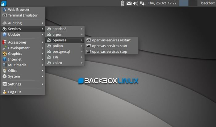 Back Box : Operating Systems for hackers