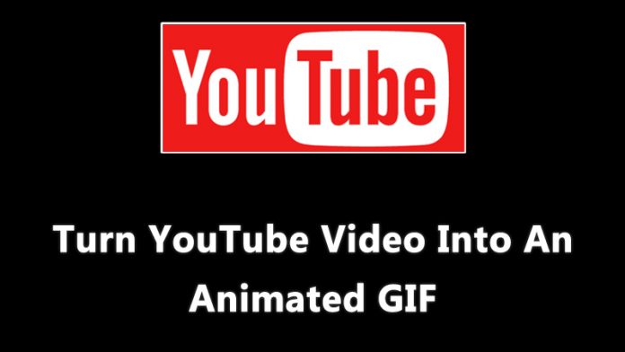Turn Youtube videos into GIF