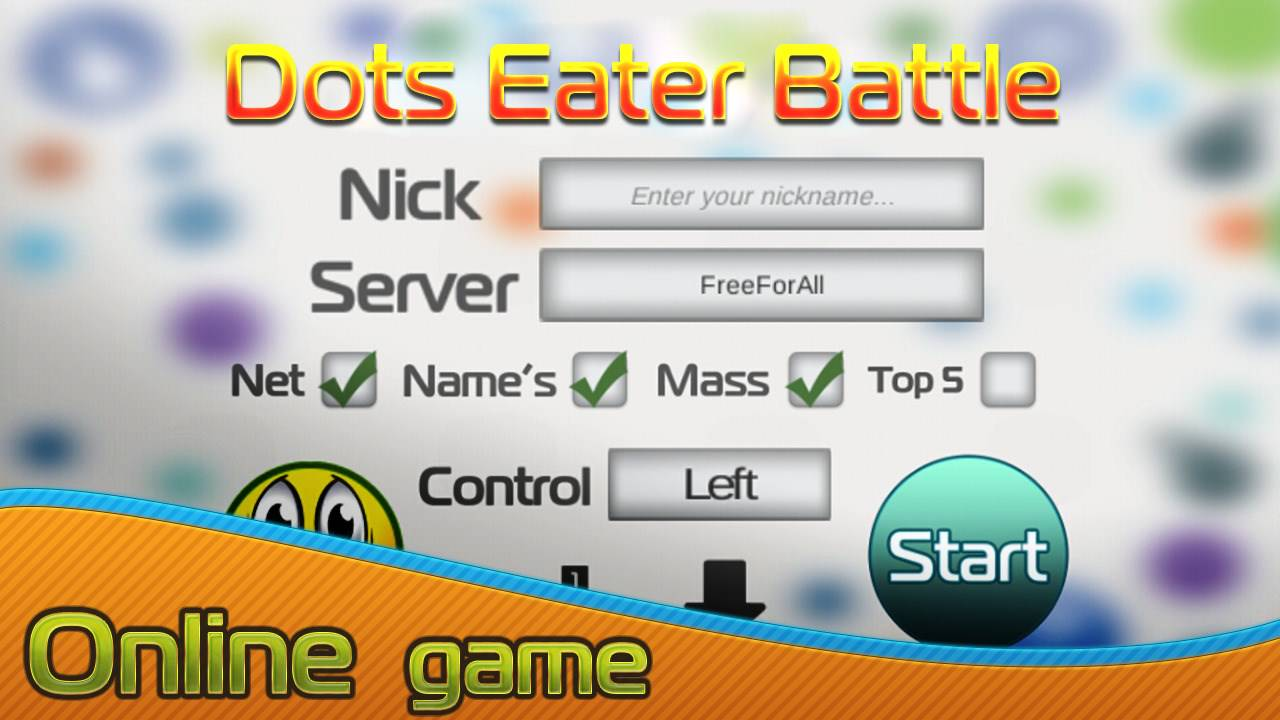 Dots Eater Battle Online : games like agario