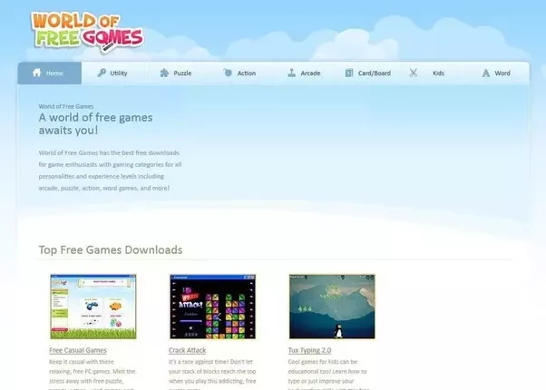 World of free games