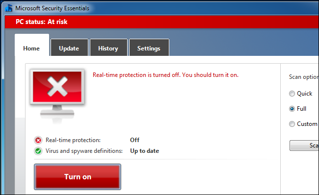 On-Access Scanning :Antivirus