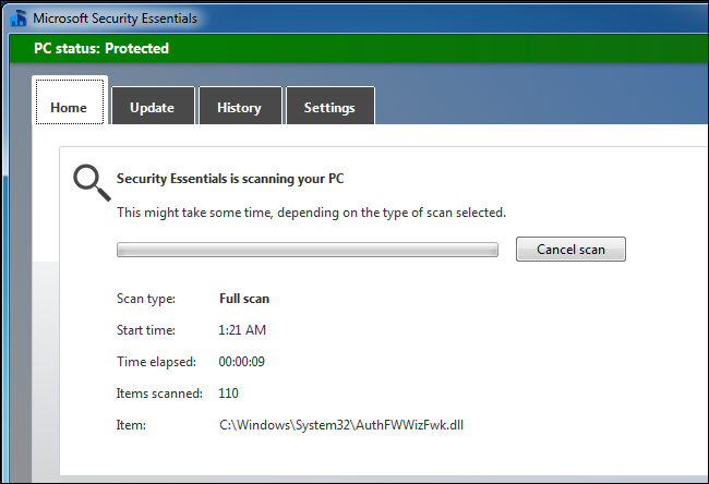 Full System Scan Antivirus