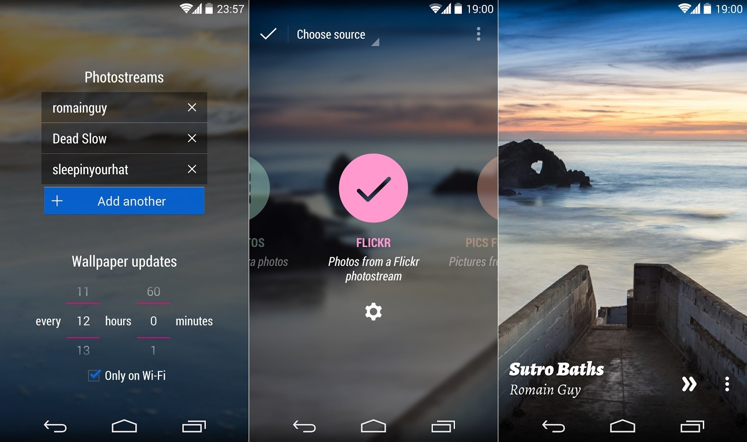 Muzei Live Wallpaper : Open Source Android Apps