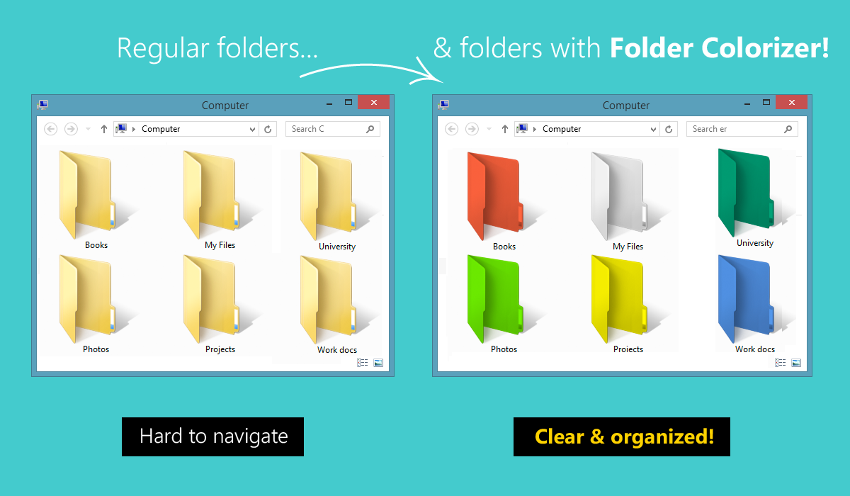 How to Change Folder Icon Color in Windows 10 - Techykeeday