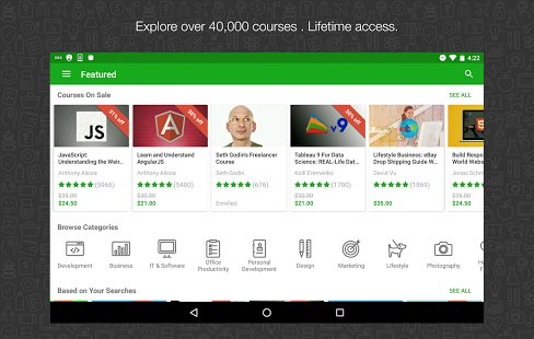Udemy ; best educational apps