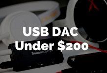 best dac under 200