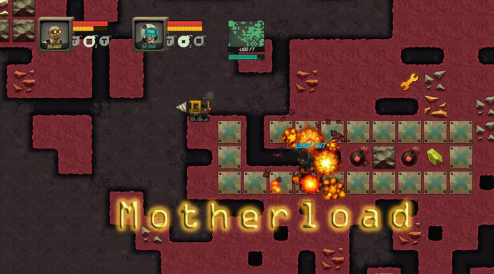 MotherLoad : Games Like Terraria