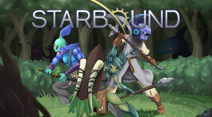 StarBound : Games like Terraria