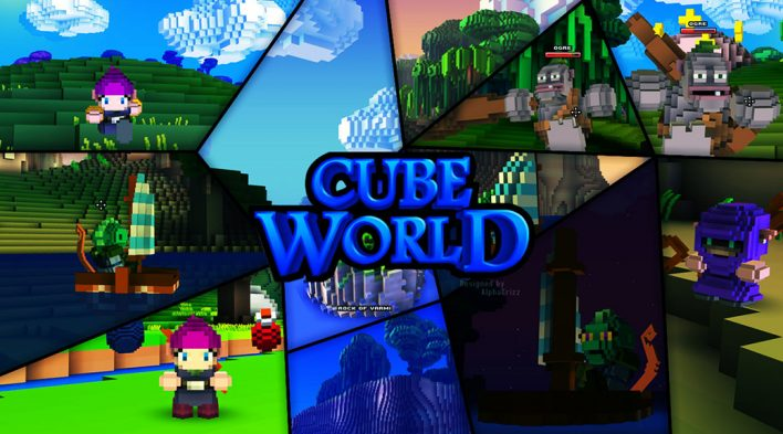 Cube World : Games Like Terraria