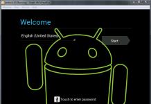Android Virtualbox