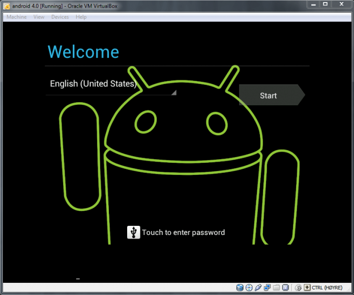 Android Virtualbox