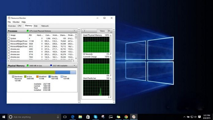 windows 10 memory leak
