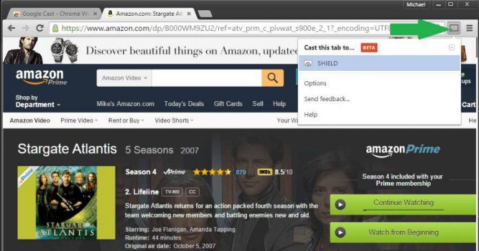Adobe Flash Player : Amazon instant video