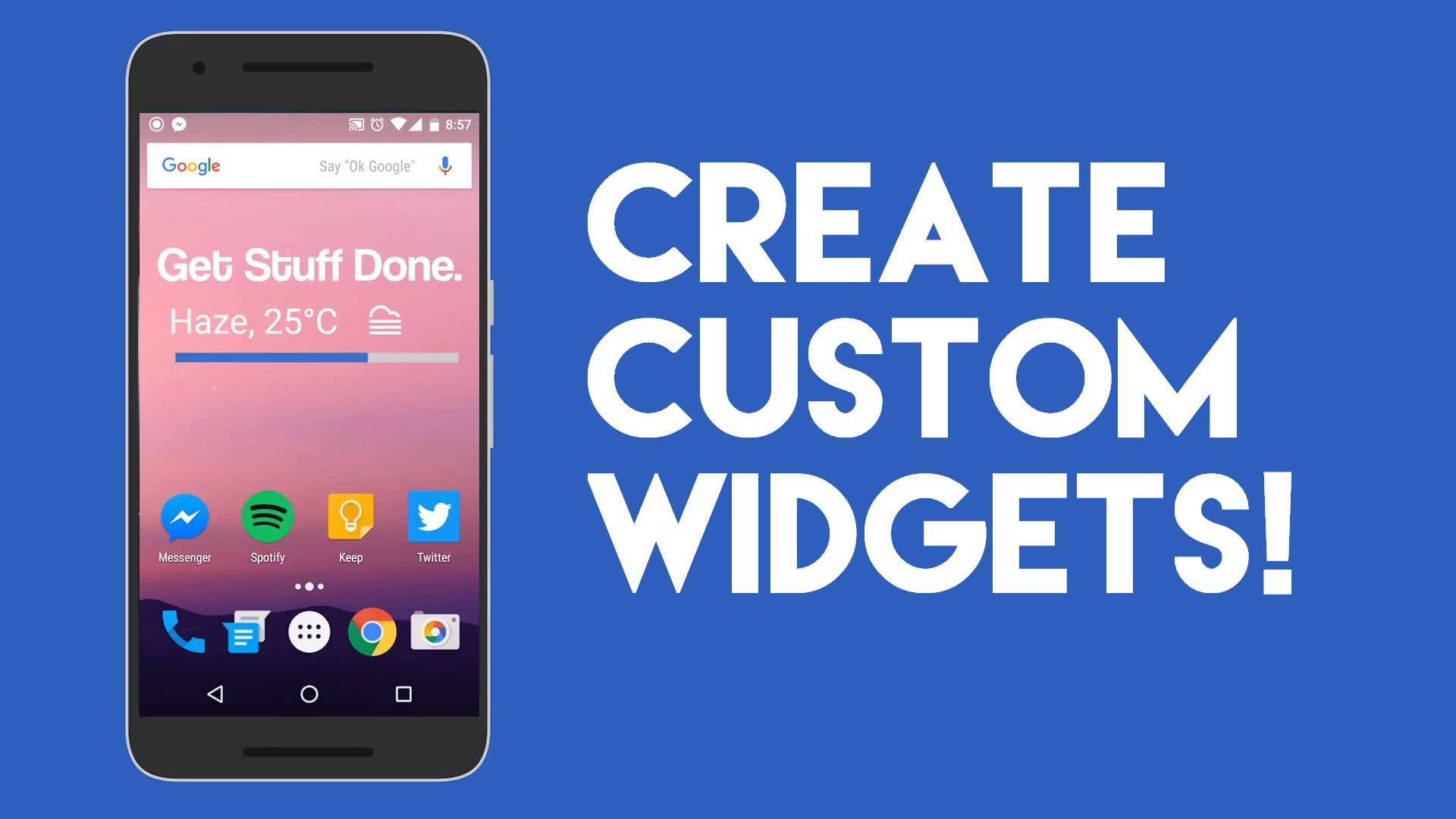 Make Custom Widgets