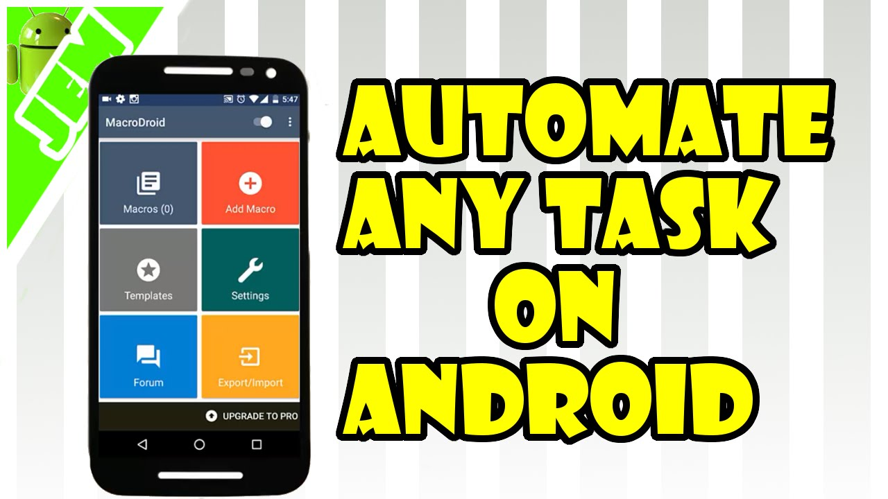 Time To Automate The Android Phone Settings
