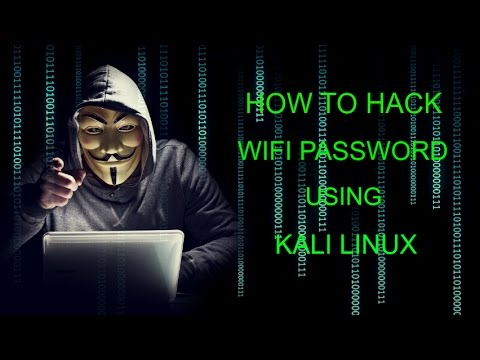 Hack Wi-Fi Password With Kali Linux