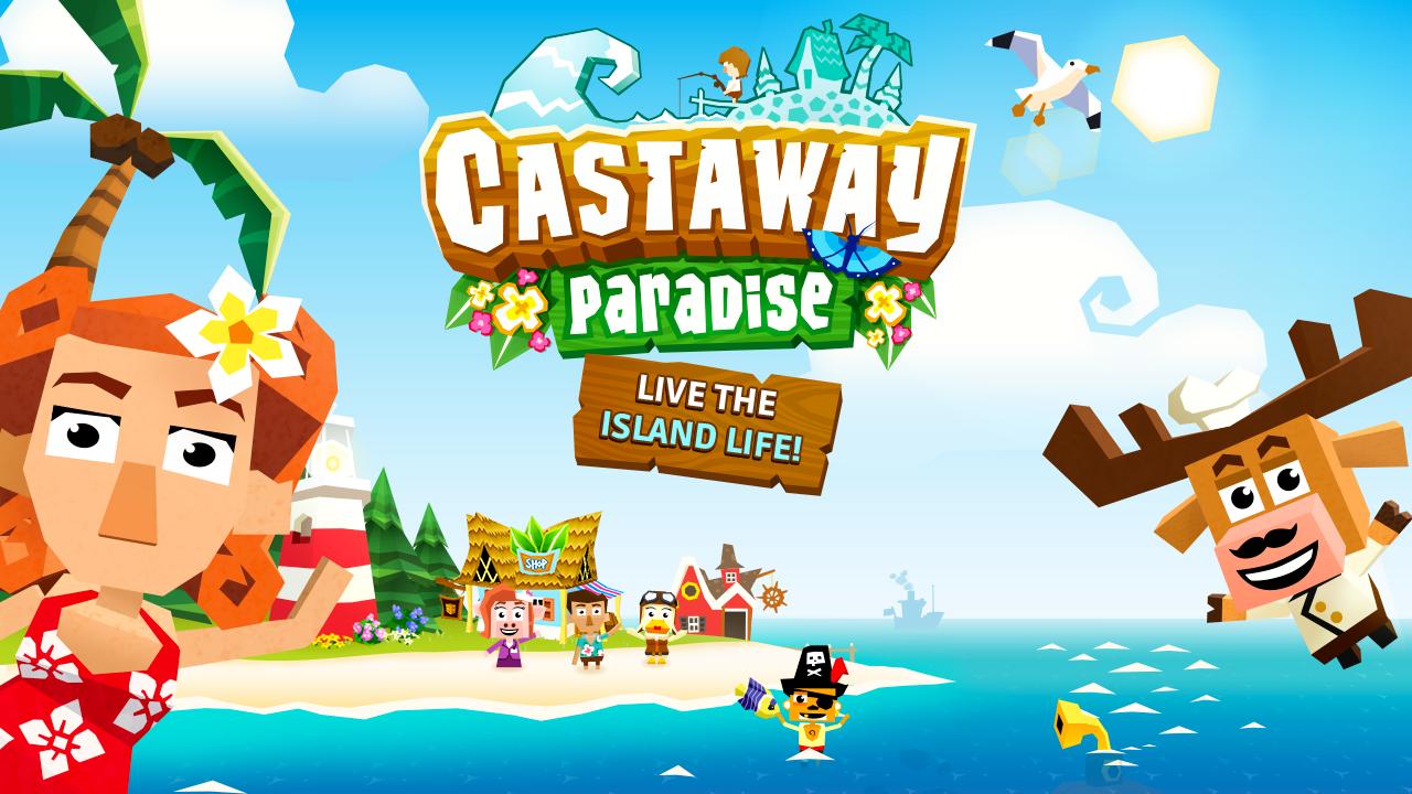 castaway_paradise : Games like Harvest Moon