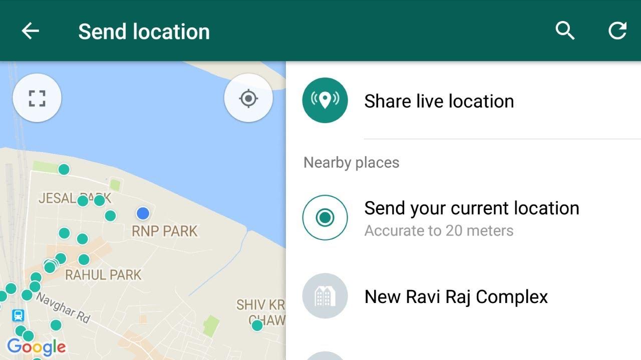 send location
