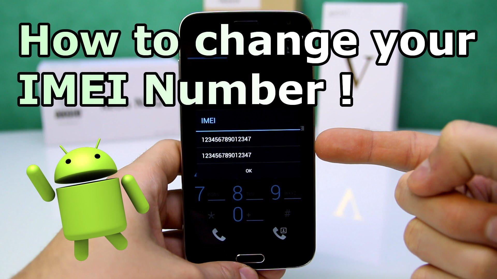 Change Imei
