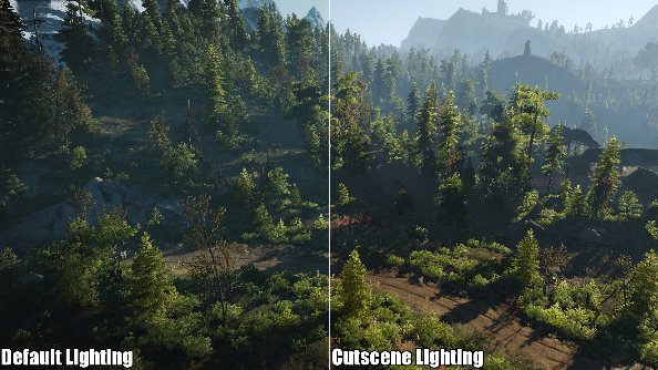 Cutscene Lighting Mod