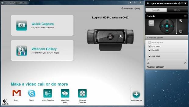 Logitech Webcam: