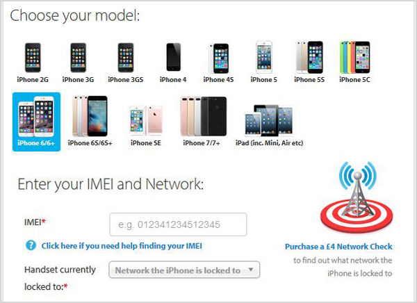 Official iPhone Unlock Tool