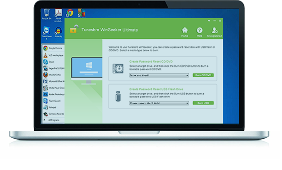 TunesBro WinGeeker - Best Windows Password Recovery Tool Ever
