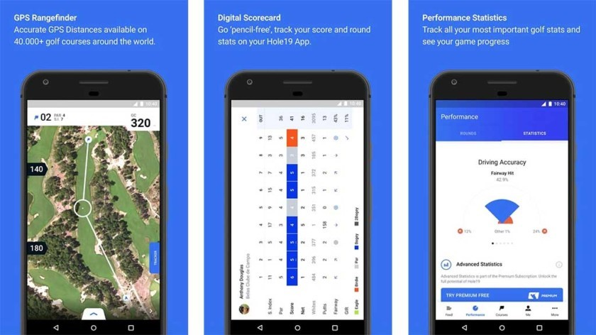 best golf apps for android